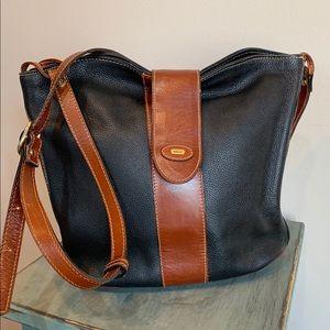 VTG Bally Leather Crossbody Bag